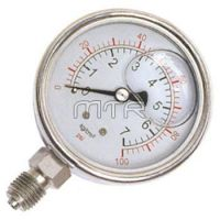 - Bottom Mounted Liquid-filled Air Pressure Gauges