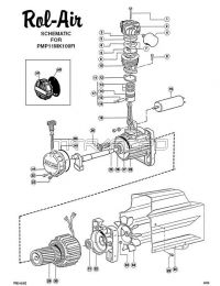Air Compressor Pump Parts - PMP11MK100FI