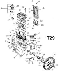 T29 - Air Compressor Pump Parts