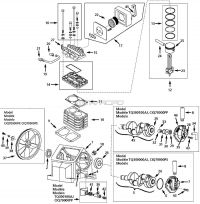 TQ300000AJ - Air Compressor Pump Parts