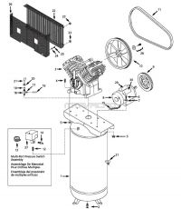 Air Compressor Parts - TQ310401, DP5810-Q, 292655