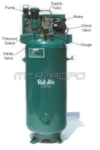 Stationary Single-Stage Oil-Lubricated Electric Air Compressor - V3160K18