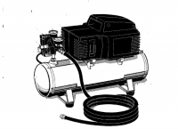 HFAC153 PUMP (3) - Oil-Free Electric Air Comrpessor Pump Repair Parts