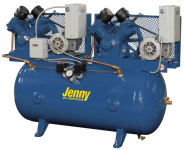 Jenny Single Stage Duplex Climate Control Air Compressor Parts