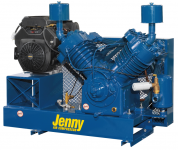 Jenny Gas Two-Stage Base Mounted Air Compressor Parts