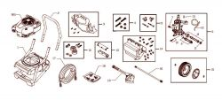 020414, 020414-0 - Pressure Washer Parts schematic