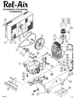 13GR30HK30 - Rol-Air Parts schematic