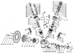 3-0313 Pump - Mi-T-M Parts schematic