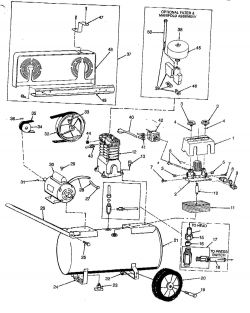 Amusing Craftsman Air Pressor Parts Diagram Gallery Best Image