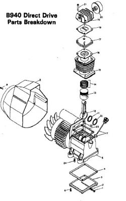 44C75-3 - Air Compressor Pump Parts schematic