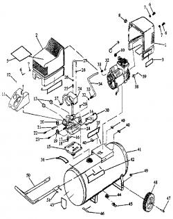 Air  pressor Parts 919152920 P 22859 on sears generator wiring diagram