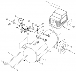 919.167141 - Air Compressor Parts schematic