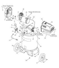 919.167312 - Air Compressor Parts schematic