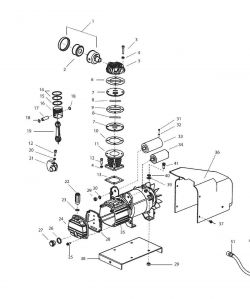 921.153120 Pump - Air Compressor Pump Parts schematic