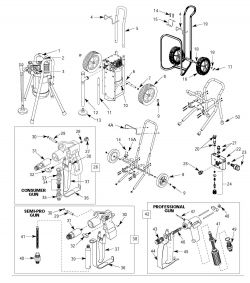 AL271000AV - Paint Sprayer Parts schematic