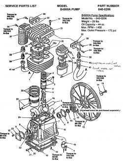 51-A21 - Air Compressor Pump Parts schematic
