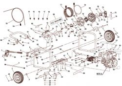 BM80917 - Pressure Washer Parts schematic