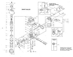 N65CP - Pneumatic Coil Nailer Parts schematic