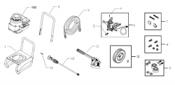 020290-0 - Pressure Washer Parts schematic