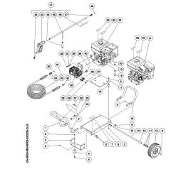 CA-3003-0MRB - Pressure Washer Parts schematic