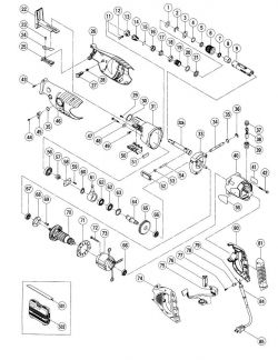 CR13VA - Reciprocating Saw Parts schematic