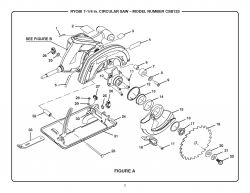 CSB123 - Circular Saw Parts schematic