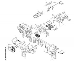 CW-2505-4MGH - Pressure Washer Parts schematic