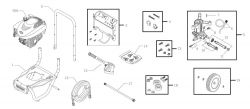 580.752500 - Pressure Washer Parts schematic