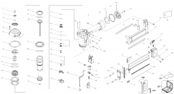 D51422K - Pneumatic Stapler Parts schematic