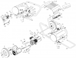 D55171 (Type 2) - Portable Oil-Free Electric Air Compressor Parts schematic
