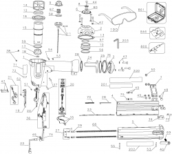 D51238K - Pneumatic Brad Nailer Parts schematic