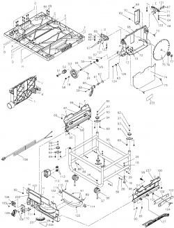 dewalt generator wiring schematic with Table Saw Parts Type1 Dw745 P 66054 on T15314630 Circuitdiagram afrilec generator additionally Table Saw Wiring Diagram besides Table Saw Parts Type1 Dw745 P 66054 also