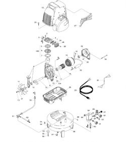 EC79 - Air Compressor Parts schematic