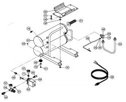 EC89 - Air Compressor Parts schematic
