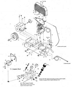 MK15A-8P, MK2A-8P - Air Compressor Parts schematic