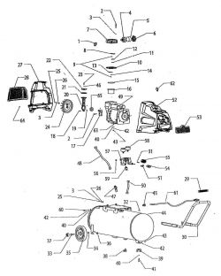 F217HKL, 236005 - Air Compressor Parts schematic