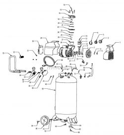 F226VWD, 585-819, 585819 - Air Compressor Parts schematic