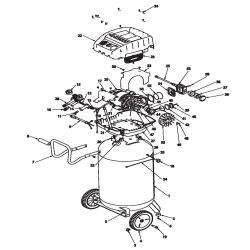 F3S33VWD, 516051 - Air Compressor Parts schematic