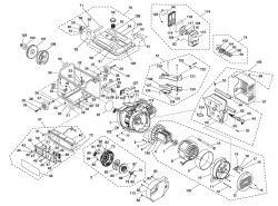 Carburetor For Kohler Engine likewise Homelite Chainsaw Fuel Line Diagram in addition Yamaha Golf C Wiring Diagram Generator together with Generator Parts Hgca3000 P 45984 furthermore 0702250. on homelite generator manual