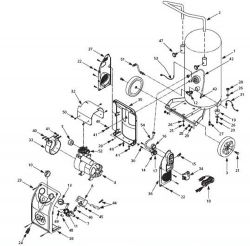 HU350199, HU350199AV - Air Compressor Parts schematic