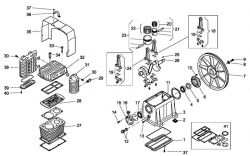 J-114 - Air Compressor Pump Parts schematic