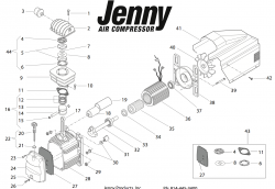 repair parts for jenny mk246 air compressor pump rh mastertoolrepair com pneumatic pump schematic diagram