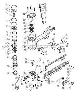 N5008AB - Pneumatic Stapler Parts schematic