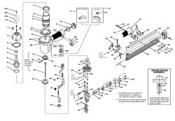 N59FN - Pneumatic Finish Nailer Parts schematic