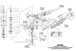 N88RH - Pneumatic Framing Nailer Parts schematic