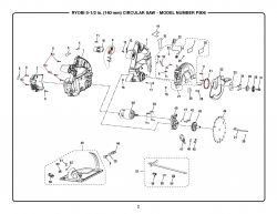 P506 - Cordless Circular Saw Parts schematic