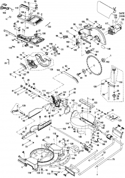 PCB120MS - Miter Saw Parts schematic
