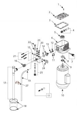 campbell hausfeld paint sprayer ps270d sloan pan sprayer schematic ps270d (1tlz3) paint sprayer parts schematic