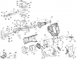 PC85RSOK - Reciprocating Saw Parts schematic
