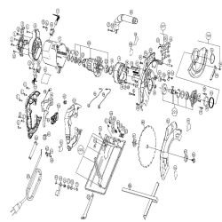 PC13CSL - Circular Saw Parts schematic